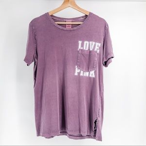 Pink Victoria's Secret Casual Tee Size Small P